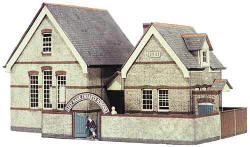 Superquick Model Card Kits - B31 The Village School