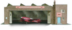 Superquick Model Card Kits - B34 Depot Building