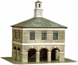 Superquick Model Card Kits - B35 Market House